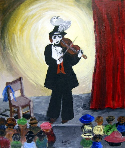 Le Clown au Violon